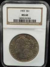1903 Morgan Silver Dollar MS 60