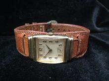 Hamilton Men's GF Watch from the 1940s. Model 982