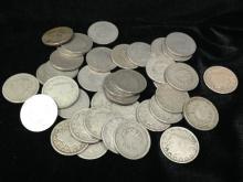 Lot (37) Liberty V Nickels 1900-1912.