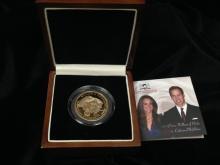2011 Prince and Princess Gold Coin
