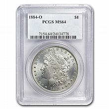1921 Morgan Dollars - MS-64 PCGS