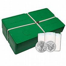 American Silver Eagle Monster Box (500 Coins, BU)