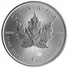 2014 Canadian Silver Maple Leaf (BU)