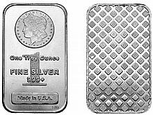 1 oz Morgan Silver Bar