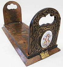 HAND CRAFTED DESKTOP BOOKENDS.