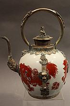 HAND CRAFTED TIBET TEAPOT. 8