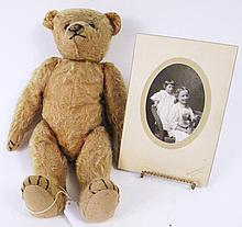 MOHAIR TEDDY BEAR OF STEIFF STYLE. 16