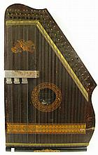 CHARTOLA ZITHER. Sometimes called an autoharp.