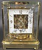 JAEGER-LE COULTRE ATMOS 15J BRASS CLOCK.