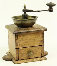 LAPTOP COFFEE GRINDER. With hand dovetailed