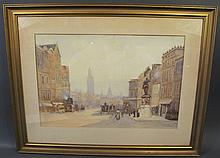 J.H. HARRIS.  19th/20th century (British).  Watercolor.  Signed and dated: