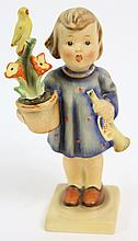 HUMMEL FIGURINE.  Congratulations.  #17/0.  With full bee mark.  5 3/4