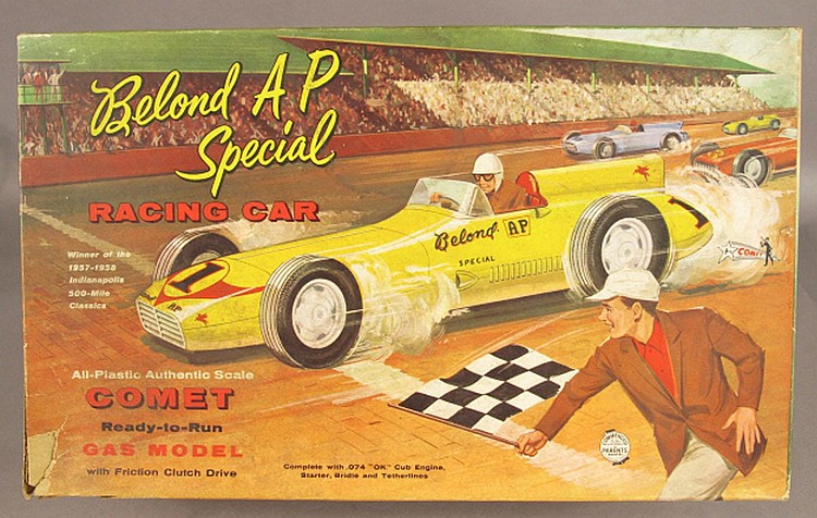 BELOND AP SPECIAL BOXED RACING CAR.