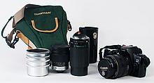CANON SLR 35 MM CAMERA. With ultrasonic 28-105 mm