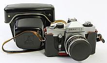 PRAKTICA PENTAGON 35MM SLR CAMERA. With Zeiss-Jena