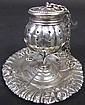 REED & BARTON ORNATE STERLING SILVER TEA BALL ON