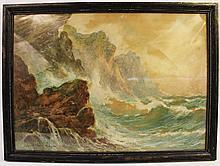THOMAS H. VICTOR.  (British, 1894-1980).  Watercolor.