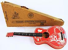 ROY ROGERS TOY GUITAR.