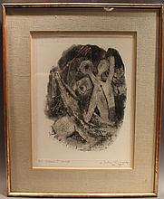 MODERN ABSTRACT LITHOGRAPH.