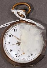 LADY'S POCKETWATCH.  Marked Eli.  (Note:  working order).