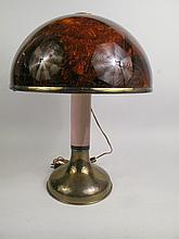 TORTOISE SHELL ACRYLIC LAMP: 18