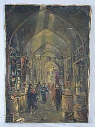 ARTHUR SARKISSIAN. (American, 20th century). Oil
