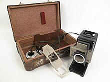 VINTAGE LIETZ FLASH CARD PROJECTOR. In box.