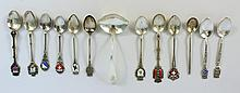 HIGH GRADE SILVER SPOONS.  .800 - .835 - .925;  about evenly divided among the 1
