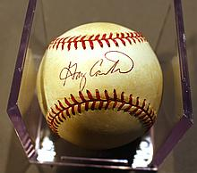 GARY CARTER AUTOGRAPHED BASEBALL.