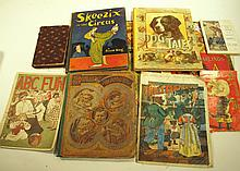 SELECTION OF CHILDREN'S BOOKS.  Including Dog Tales, Puss 'n Boots, Baby Land.