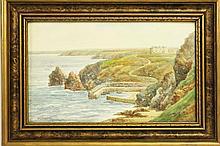 VICTOR, THOMAS H. (English, 1894-1980). Watercolor