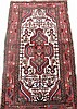 PERSIAN HAMADAN ORIENTAL RUG. With subdued colors,
