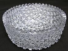AMERICAN BRILLIANT CUT GLASS FINE DIAMOND POINT