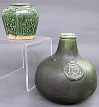 ART POTTERY BOTTLE. With