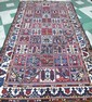 PERSIAN BAKHTIARI CARPET.  Approx. 5'2
