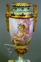 FINE FRENCH PORCELAIN ORMOLU, CHAMPLEVE AND ONYX