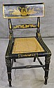 ANTIQUE AMERICAN KLISMOS CHAIR. 19th century.