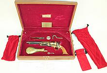 CASED U.S. HISTORICAL SOCIETY SAM HOUSTON COLT WALKER COMMEMORATIVE PERCUSSION R