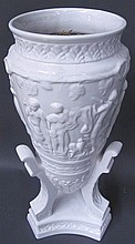 WHITE CERAMIC PLANTER 20