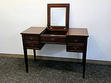 Vanity With Fold Up Mirror