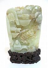 Fine White Jade Carving