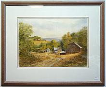 R. Clemenson Original Watercolor
