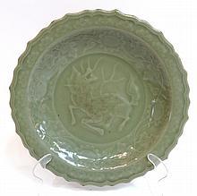 Longquan Celadon Plate