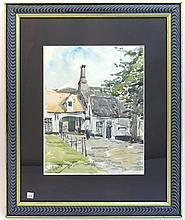 Impressionist Like Watercolor Signed Firmin