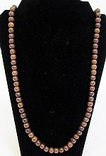 Wooden Mala Made With 108 Same Size  Beads