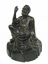 19th C. Chinese Zitan Immortal