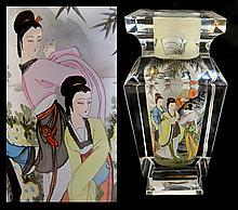 Large And Fine Peking Glass Snuff