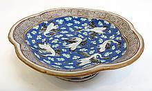 Qing Era Scalloped Edge Dish