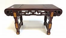 Miniature Huanghuali Alter Table