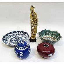 Assorted Asian Art Items